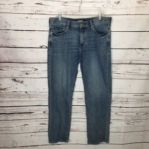 Express 34x32 classic straight stretch jeans